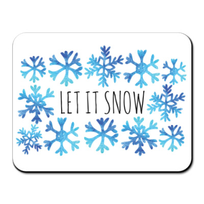 Let it snow/ снежинки