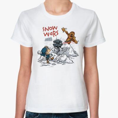 Классическая футболка Звёздные войны (Star Wars)