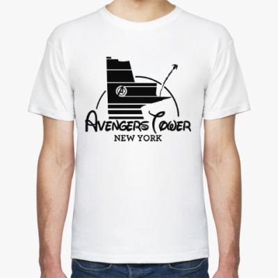 Футболка Башня Мстителей