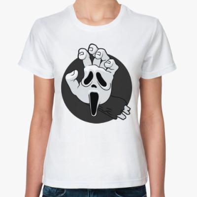 Классическая футболка Крик (Scream)