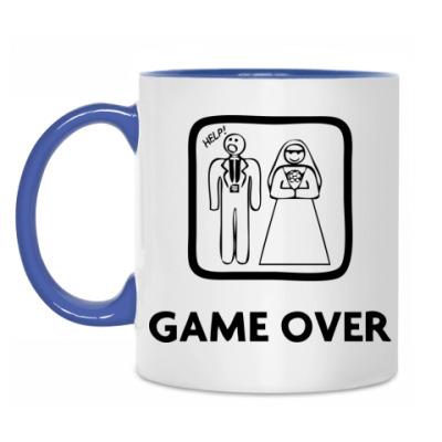 Кружка 'Game Over. Help!'