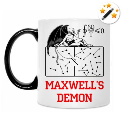 Кружка-хамелеон Демон Максвелла