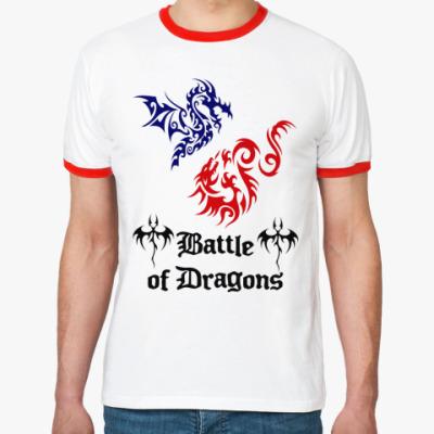 Футболка Ringer-T Battle Dragons