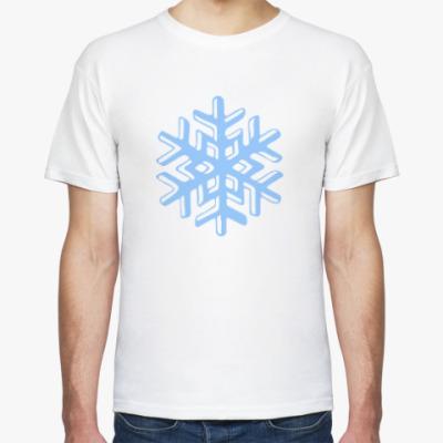 Футболка Объемная снежинка
