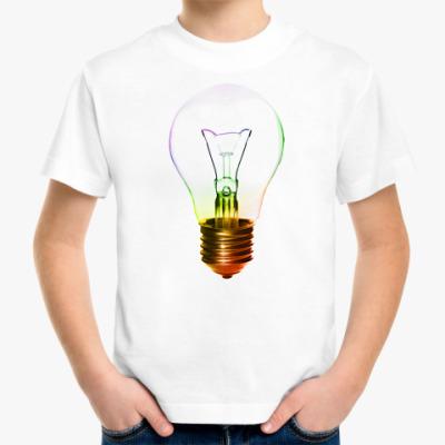 Детская футболка Лампочка