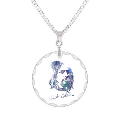 Кулон Nirvana - Курт  Кобейн