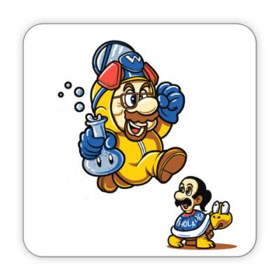 Костер (подставка под кружку) Mario Heisenberg