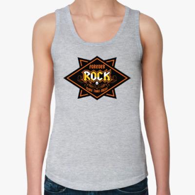 Женская майка ROCK • Больше, чем музыка!