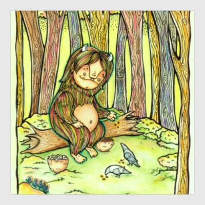 Постер Лесной тролль