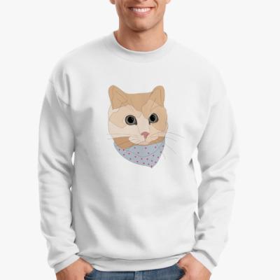 Свитшот Песочный кот