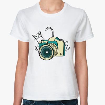 Классическая футболка Фото-кото
