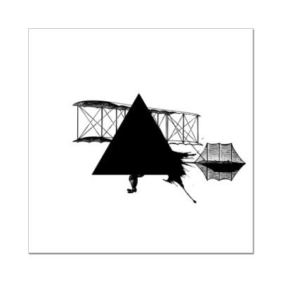 Наклейка (стикер) 'Triangle'