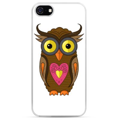 Чехол для iPhone Мудрая сова