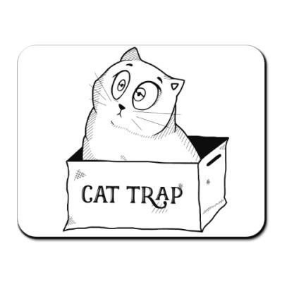 Коврик для мыши Ловушка для кота
