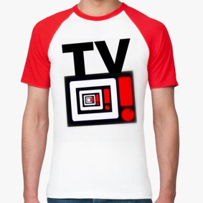 Футболка реглан   tv