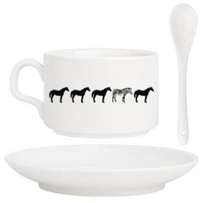 Кофейный набор Другая лошадка