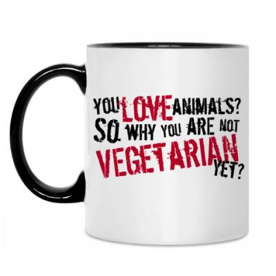 Кружка You Love Animals?