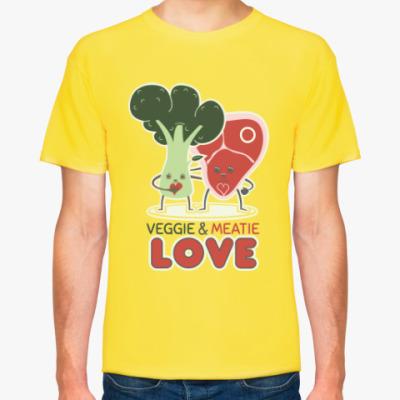 Футболка Овощно-мясная любовь