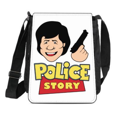 Сумка-планшет Police story