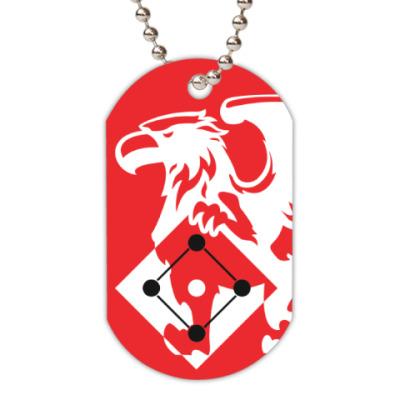 Жетон dog-tag Клуб спортивных точек