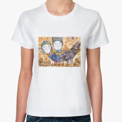 Классическая футболка Птица Мифическая