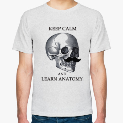 Футболка Keep calm & learn anatomy