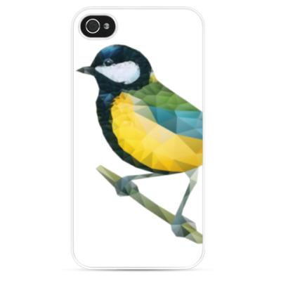 Чехол для iPhone Птица Синица