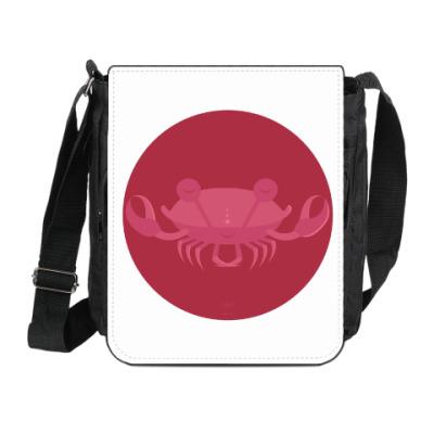 Сумка на плечо (мини-планшет) Animal Zen: C is for Crab