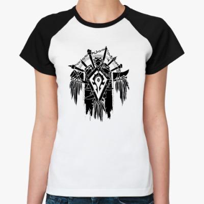 Женская футболка реглан Орда