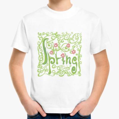 Детская футболка Spring
