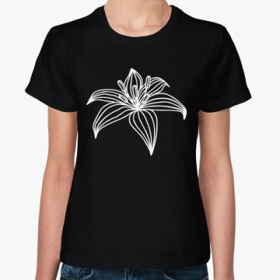 Женская футболка Лилия