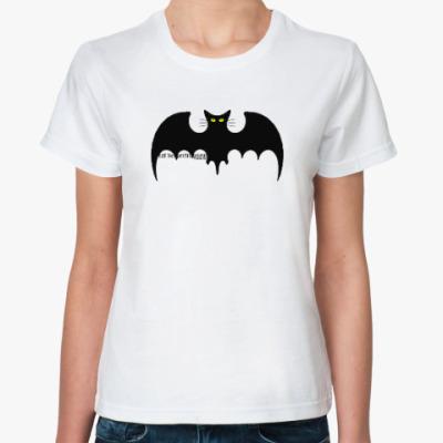 Классическая футболка Летучая кошь