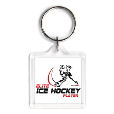 Брелок Elite Ice hockey player