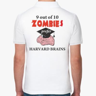 Рубашка поло Harvard brains