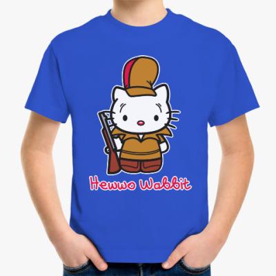 Детская футболка Hawwo Wabbit