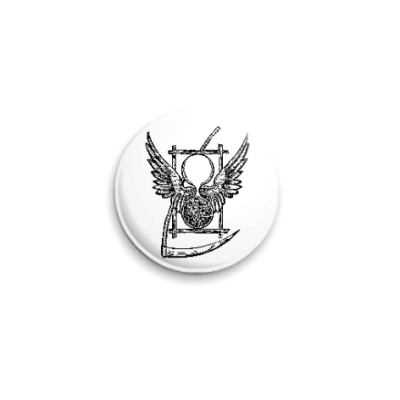 Значок 25мм `Символ Времени Дюрера` Знчк