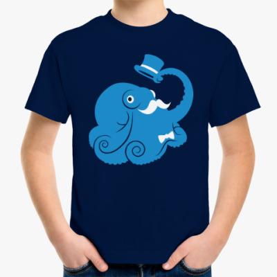 Детская футболка Сэр осьминог