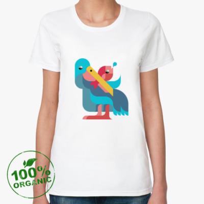 Женская футболка из органик-хлопка Pelican