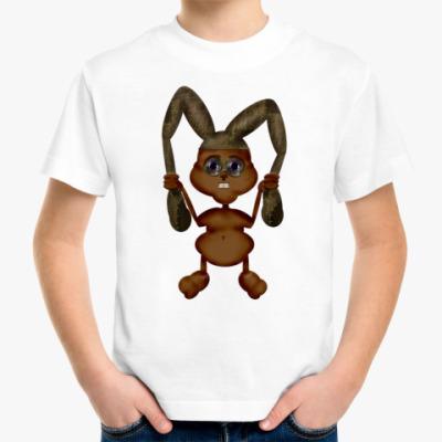 Детская футболка кролик
