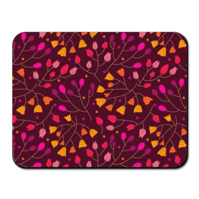 Коврик для мыши Цветочный орнамент