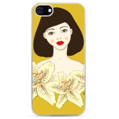 Чехол для iPhone Лилия