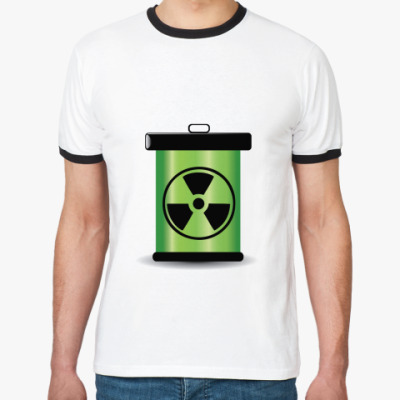 Футболка Ringer-T радиация