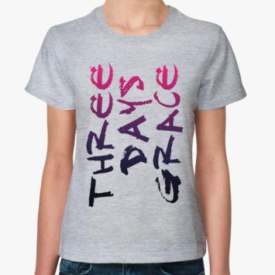 Женская футболка Three Days Grace (TDG)