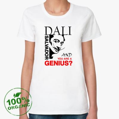 Женская футболка из органик-хлопка DALI