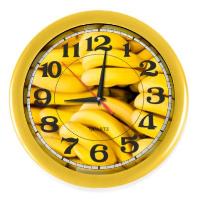 Настенные часы Бананы