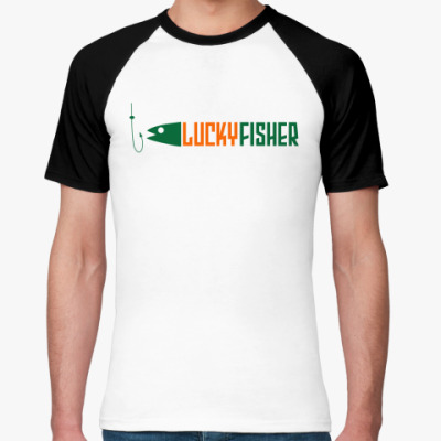 Футболка реглан lucky fisher