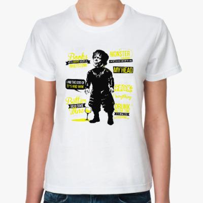 Классическая футболка Тирион