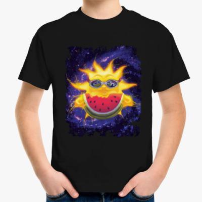Детская футболка Солнечный арбуз