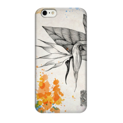 Чехол для iPhone 6/6s Цветок стрелиции