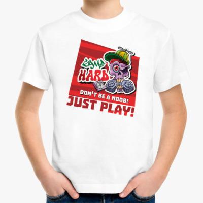 Детская футболка GAME HARD